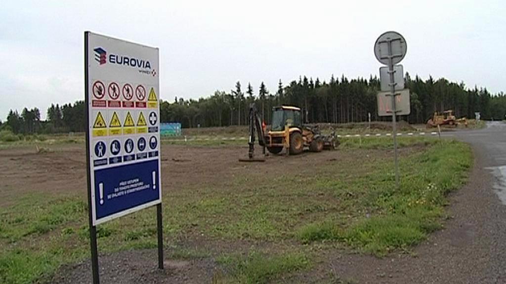 Výstavba silnice R6