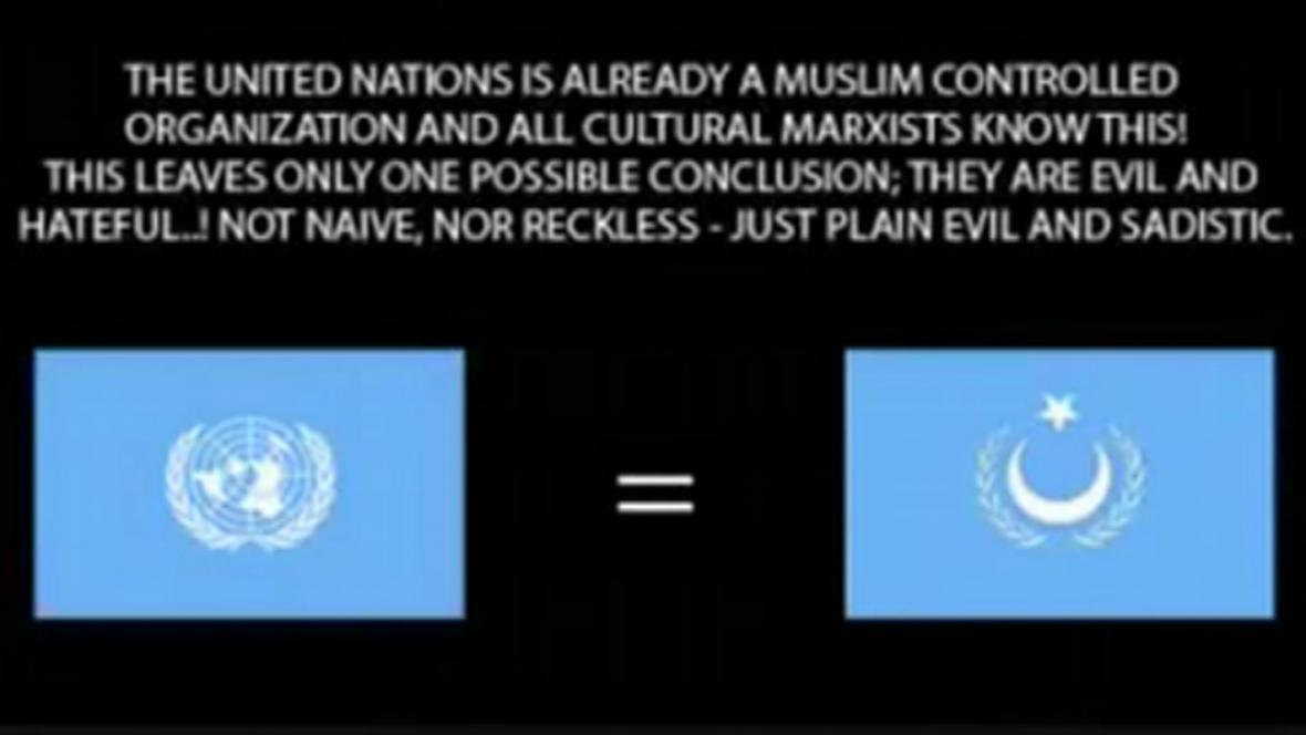 Záběry z Breivikova propagandistického videa