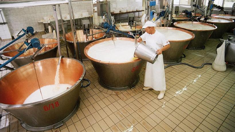 Výroba parmazánu