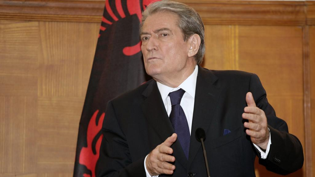 Albánský premiér Sali Berisha
