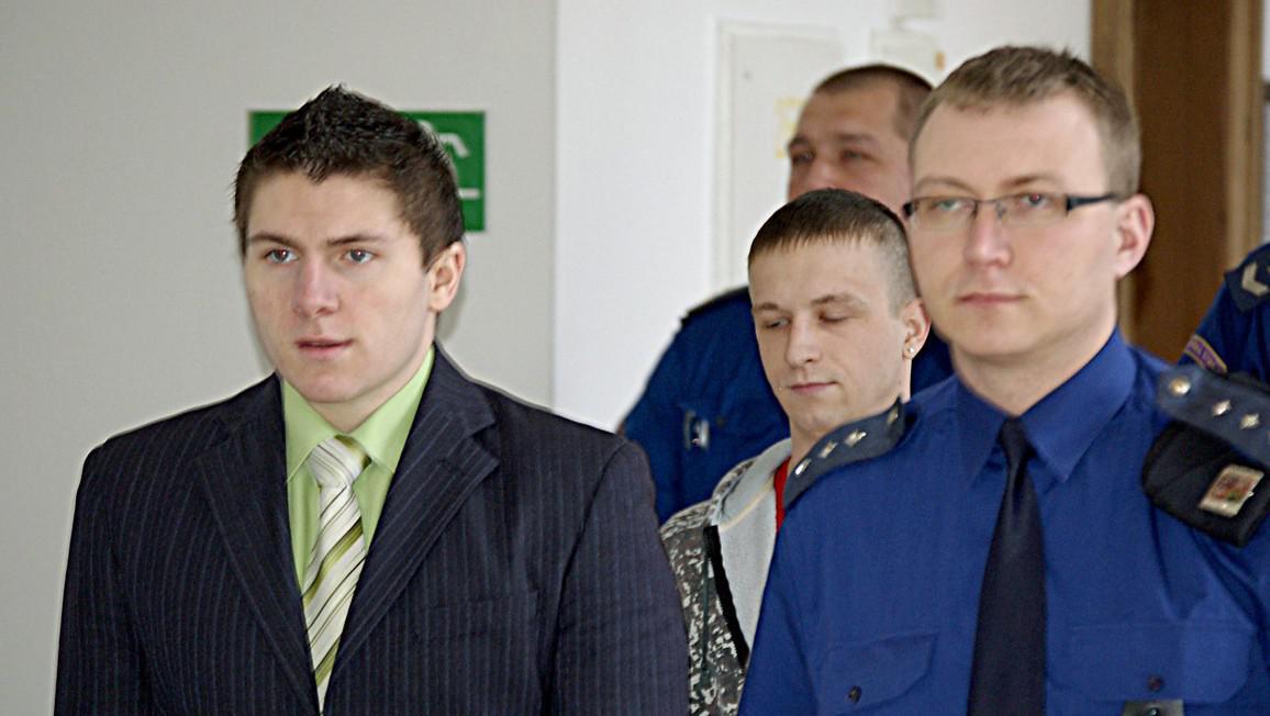 Lukáš Šefčík (vlevo) a Petr Novák (uprostřed)
