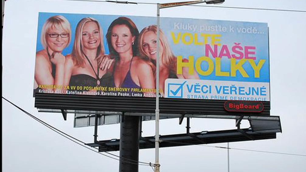 Billboard Věcí veřejných