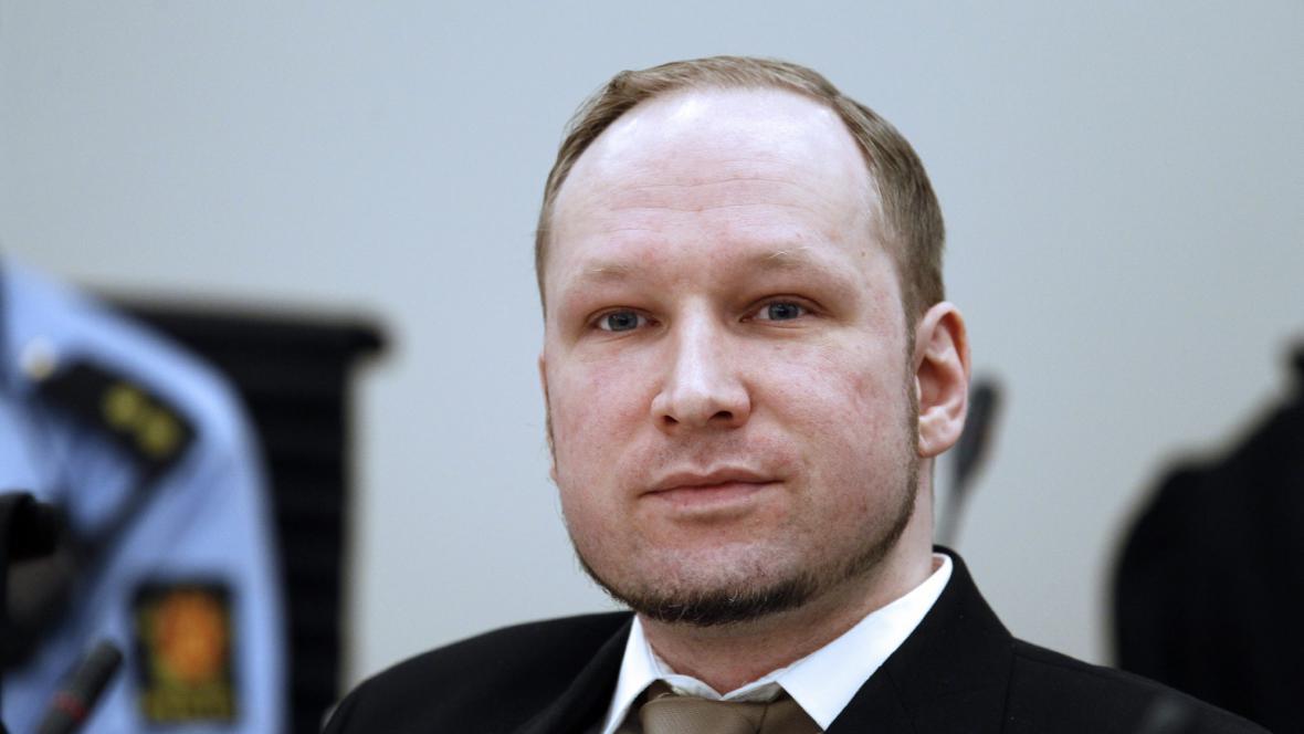 Anders Breivik u soudu