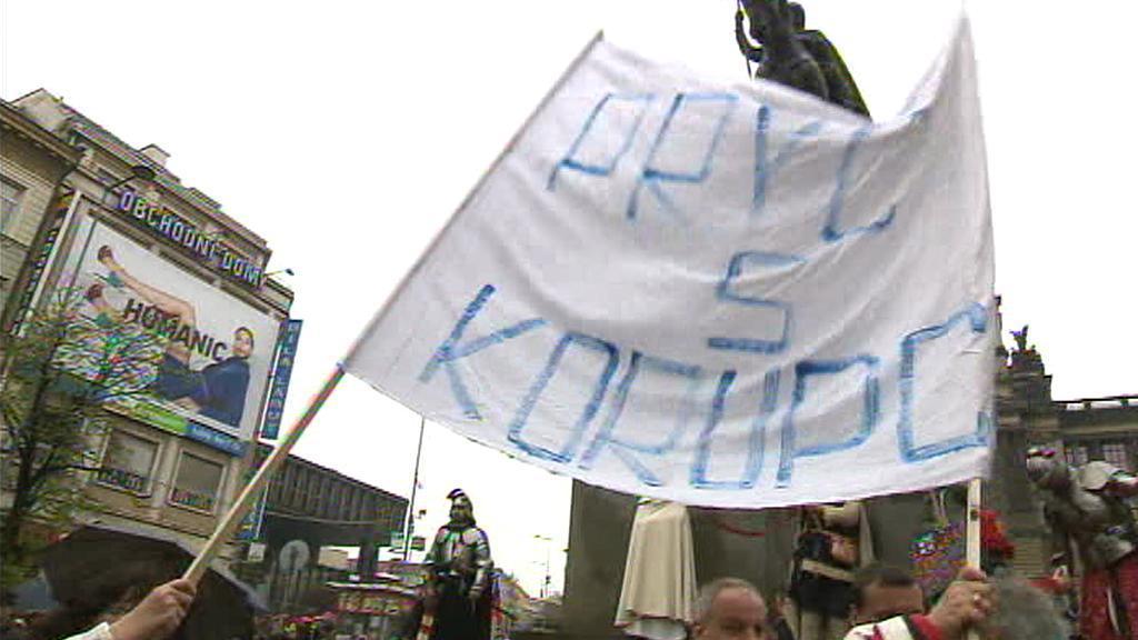Protest Holešovské výzvy v Praze