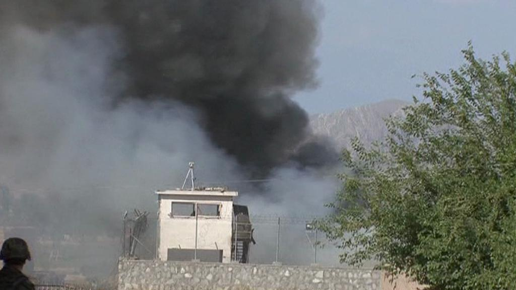 Útoky v Kábulu
