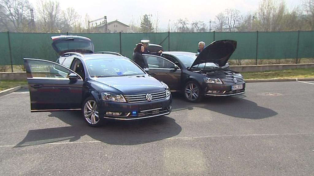 Ústecká policie má k dispozici dva nové passaty
