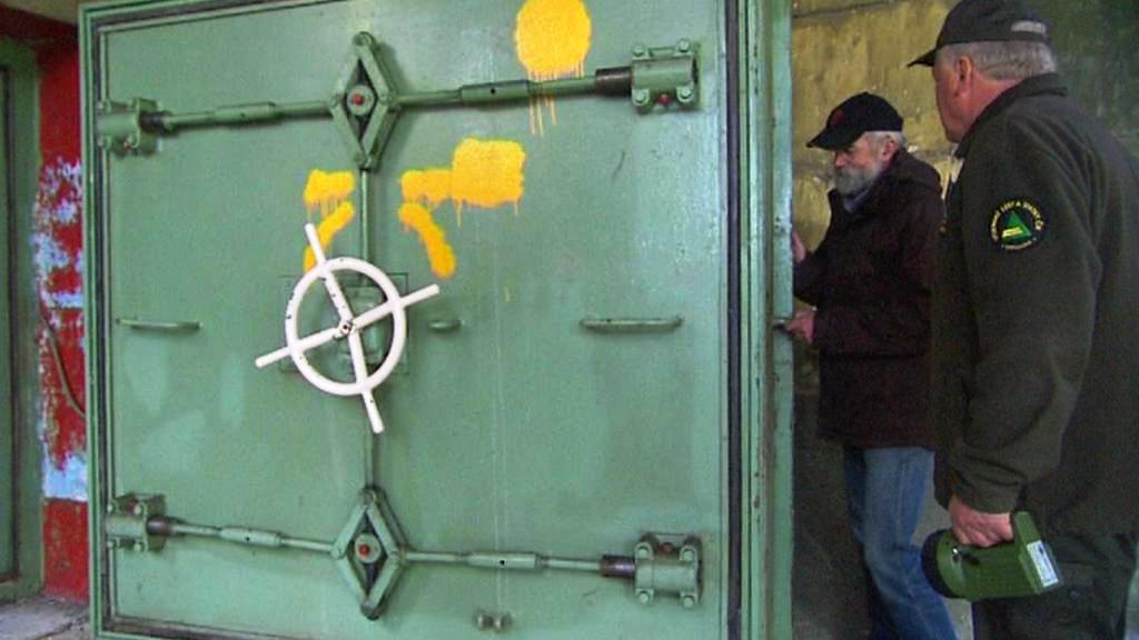 Vchod do bunkru