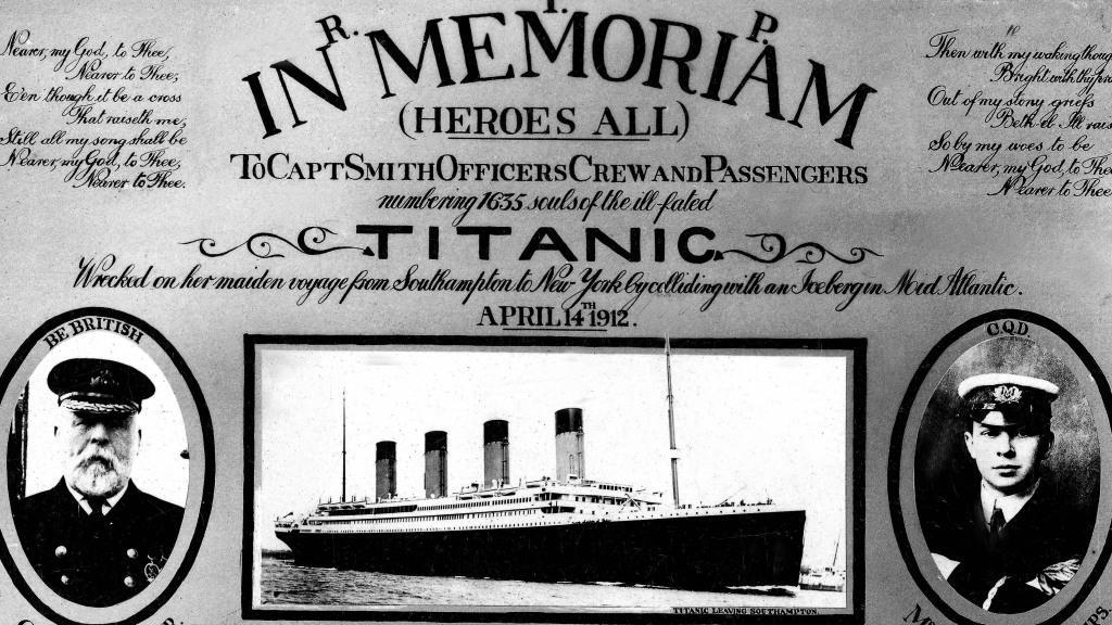 Památka obětí potopení Titanicu