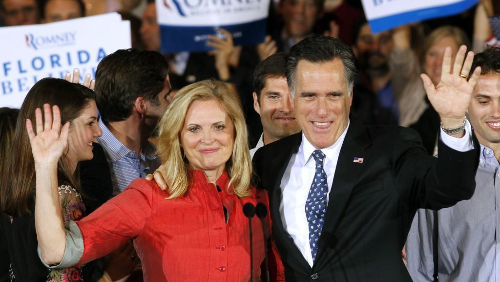 Mitt Romney s manželkou