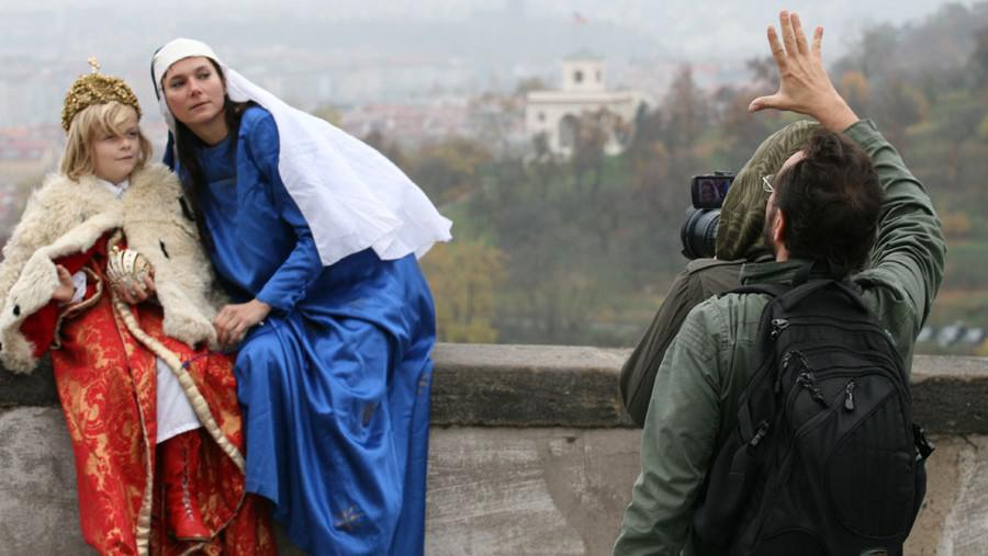 Natáčení dokumentu Pražské Jezulátko
