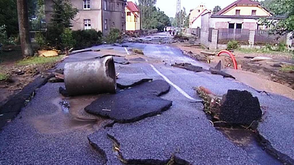 Následky povodní na Liberecku