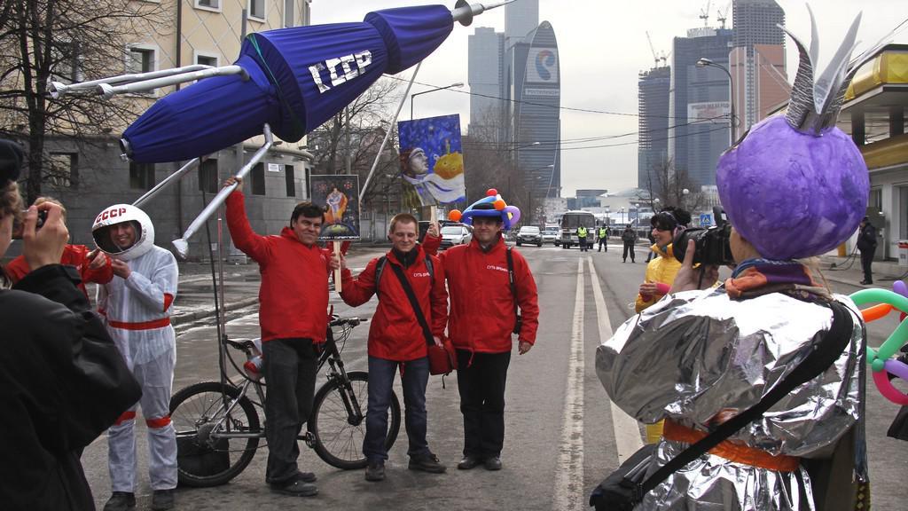 Den kosmonautiky v Rusku