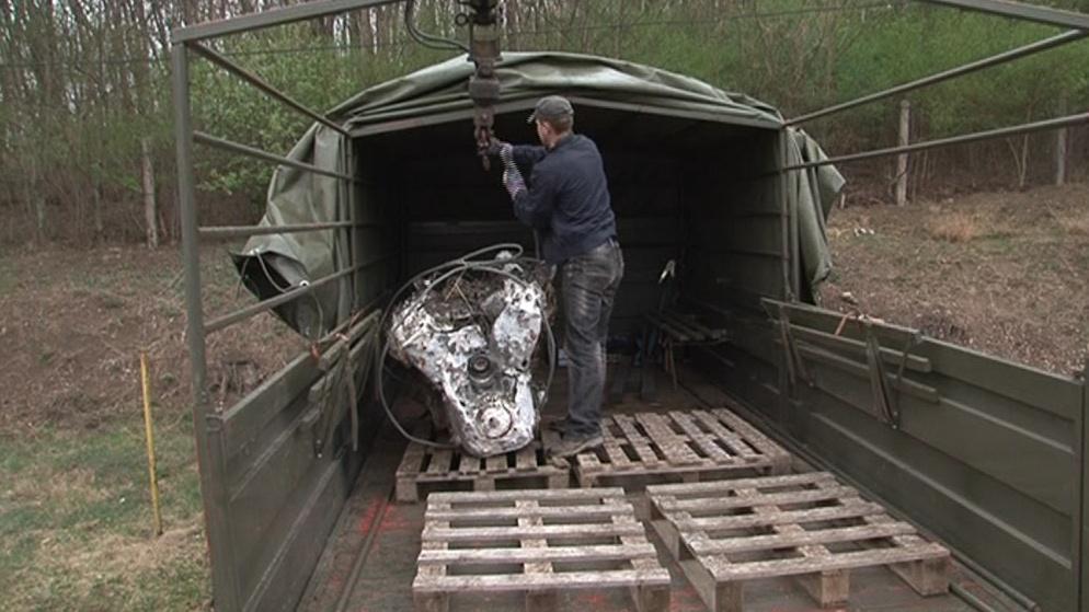 Německé letouny byly sestřeleny patrně při závěrečných bojích o Brno