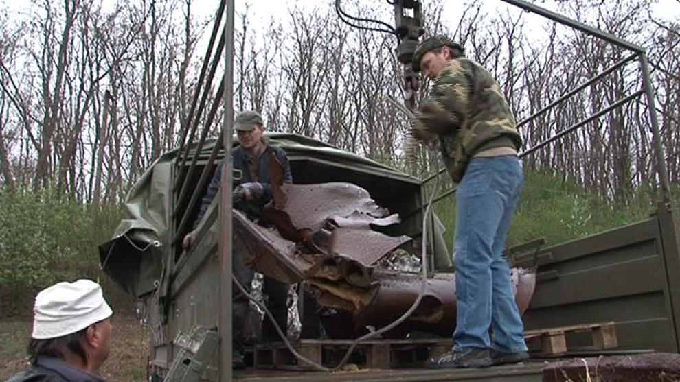 Do muzea putuje i část německého tanku