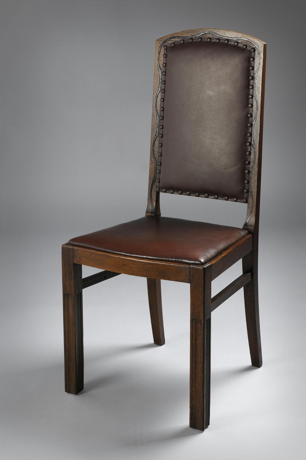 Židle podle návrhu Jana Kotěry