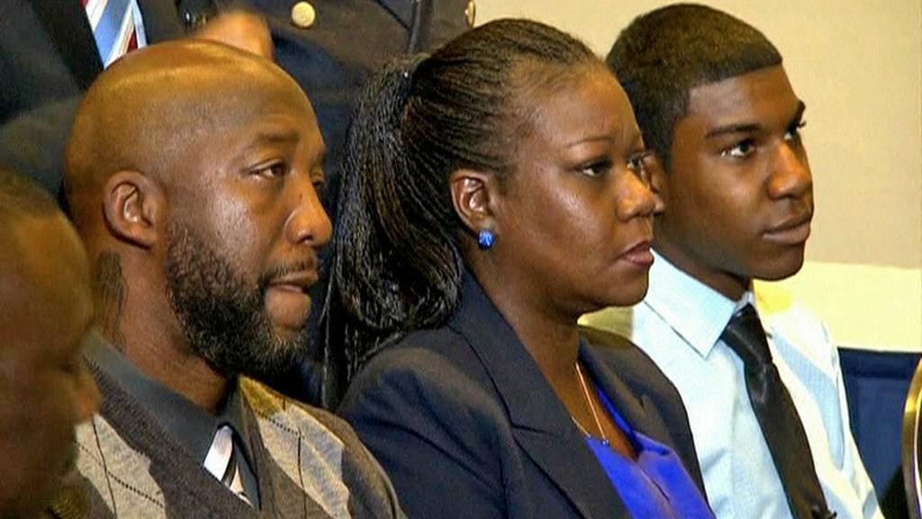 Rodiče Trayvona Martina