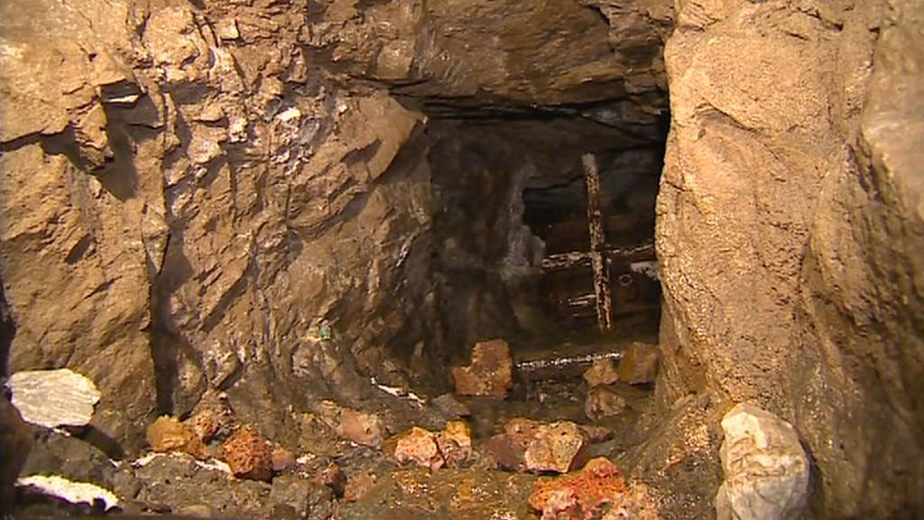 Areál historických dolů v Krušných horách