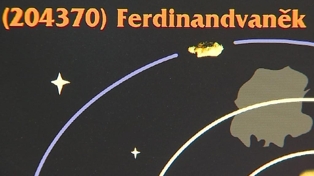 Planetka Ferdinand Vaněk