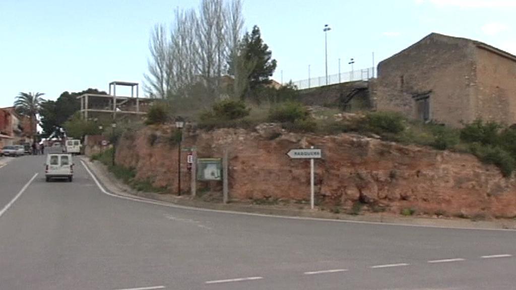 Španělské městečko Rasquera