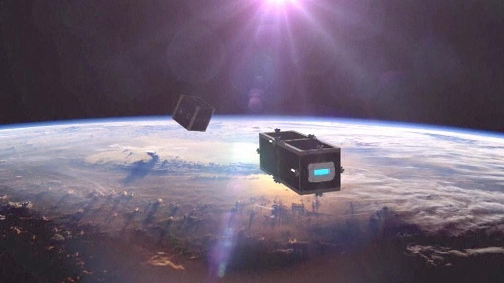 Vesmírný sběrač odpadu