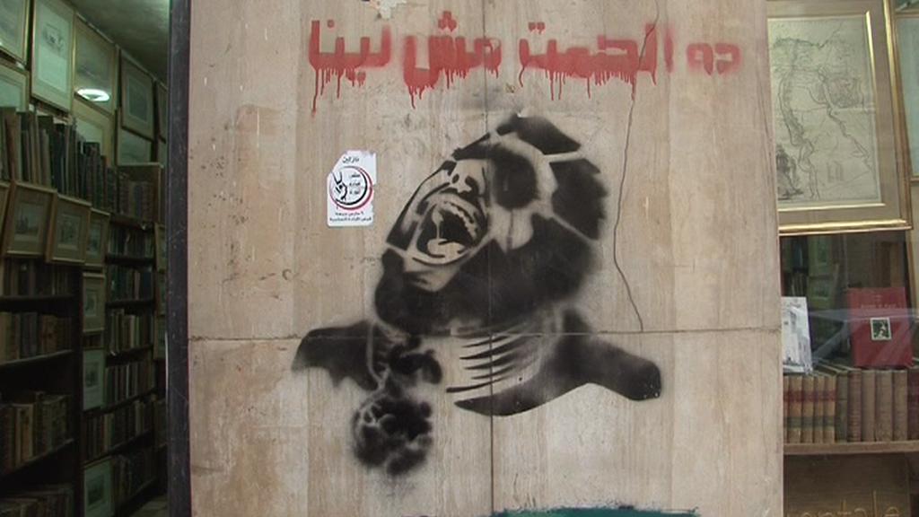 Revolta v Egyptě