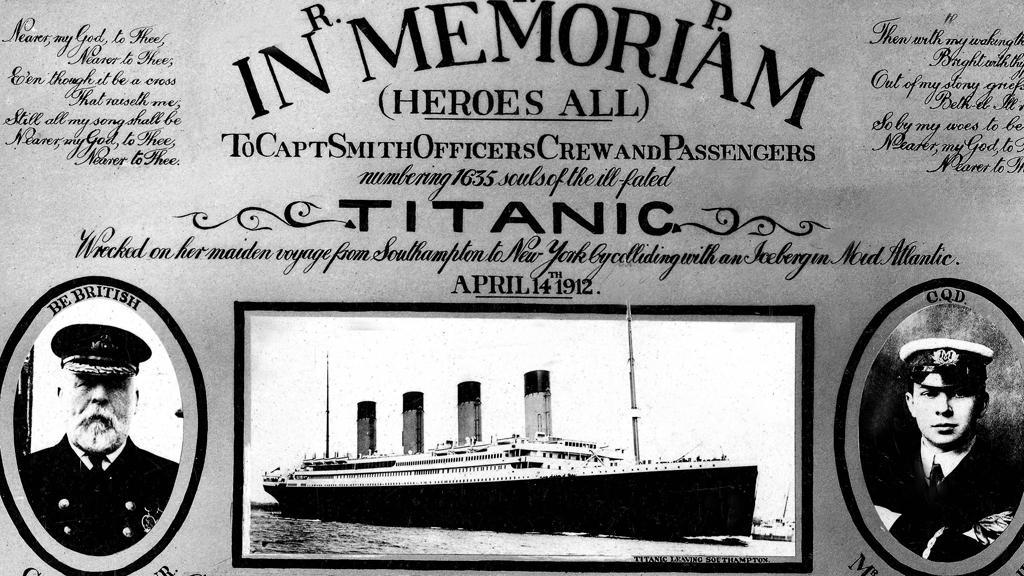 100 let od potopení Titaniku