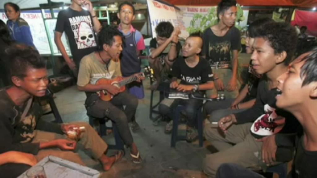 Punkeři v Indonésii