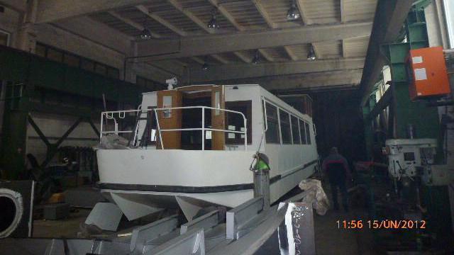 Rekonstrukce lodi Ámos