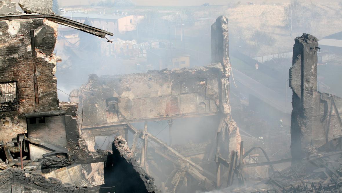 Požár v Chropyni