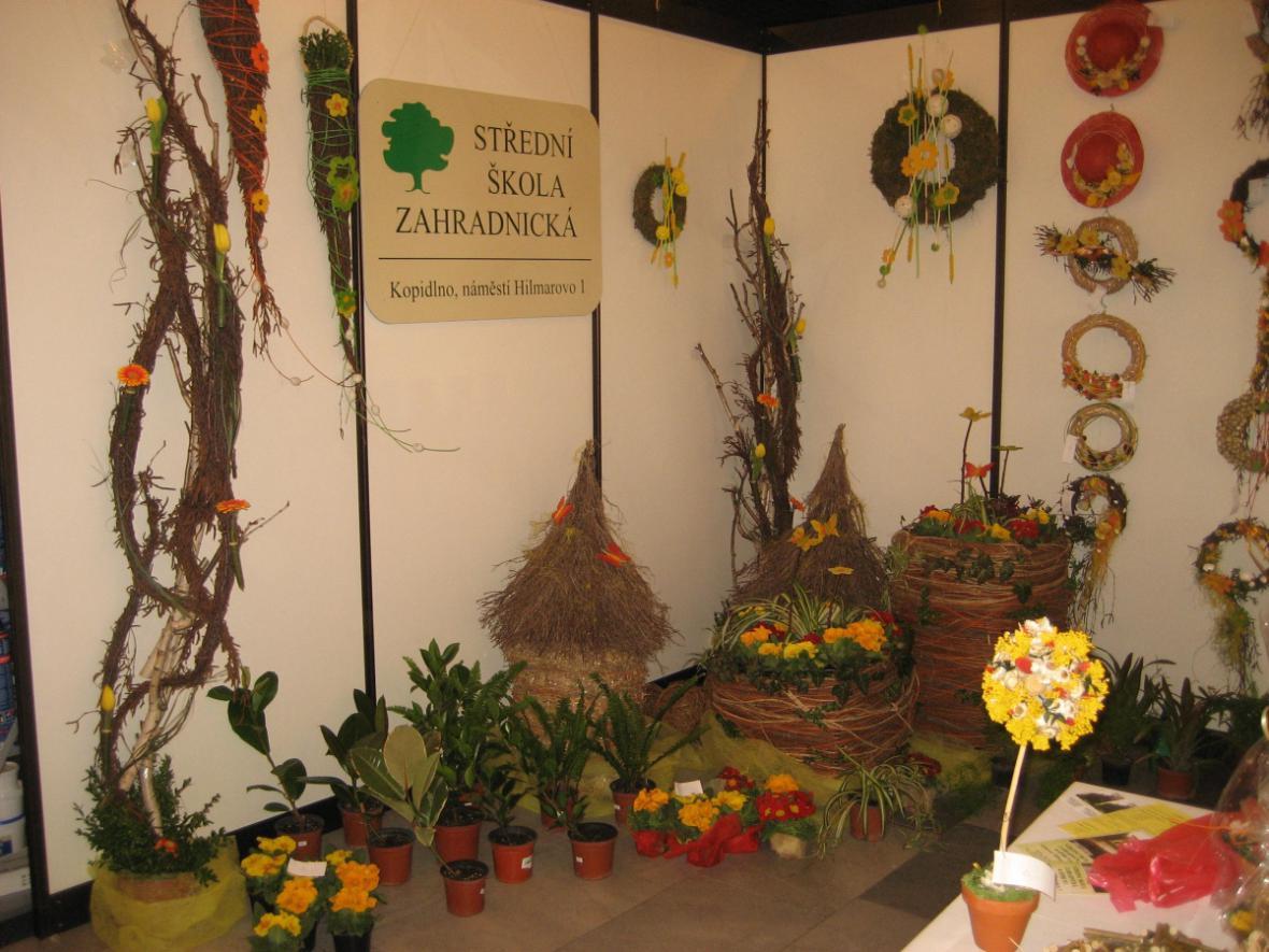 Prezentace zahradnické školy Kopidlno