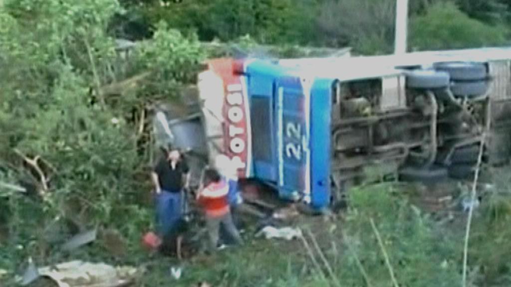 Nehoda autobusu v Argentině