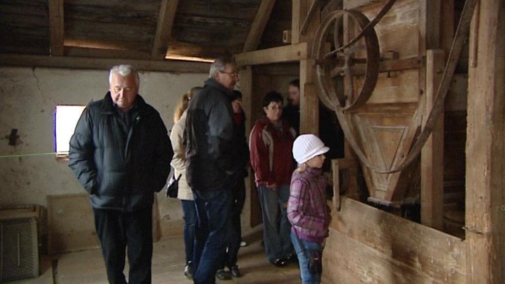 Prohlídka mlýna v Mešně