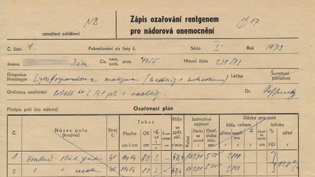 Zdravotní dokumentace v pasovském zámku
