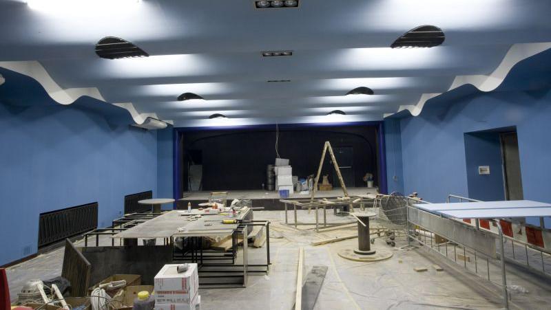 Rekonstrukce interiéru Rock Café