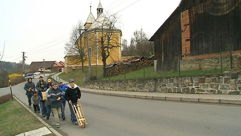 Klepači ve Hvozdné na Zlínsku