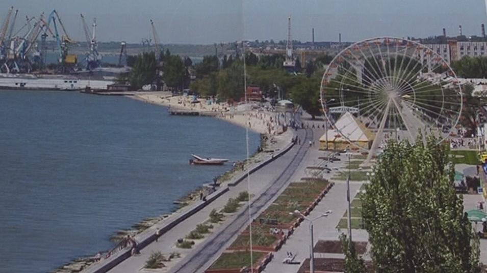 Ruské kolo bude stát na pobřeží Azovského moře