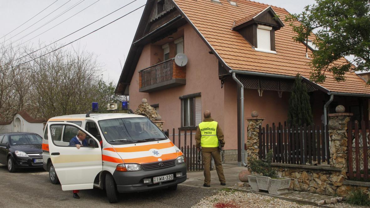 Útok mečem v maďarském Kulcsi