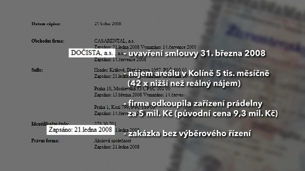 Kauza firmy Dočista
