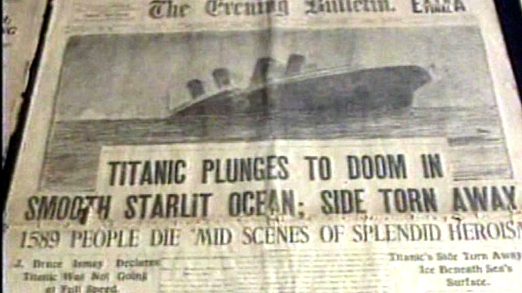 Tragédie Titanicu