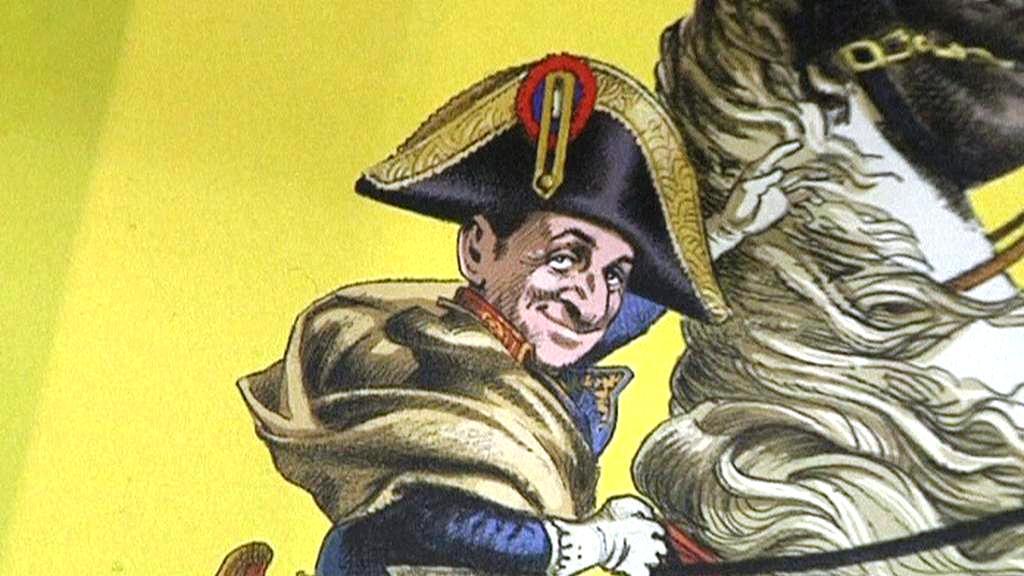 Komiks o Nicolasi Sarkozym