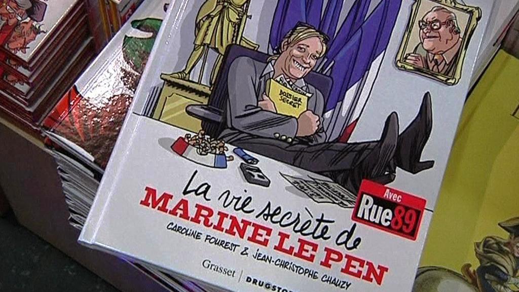 Komiks o Marine Le Penové