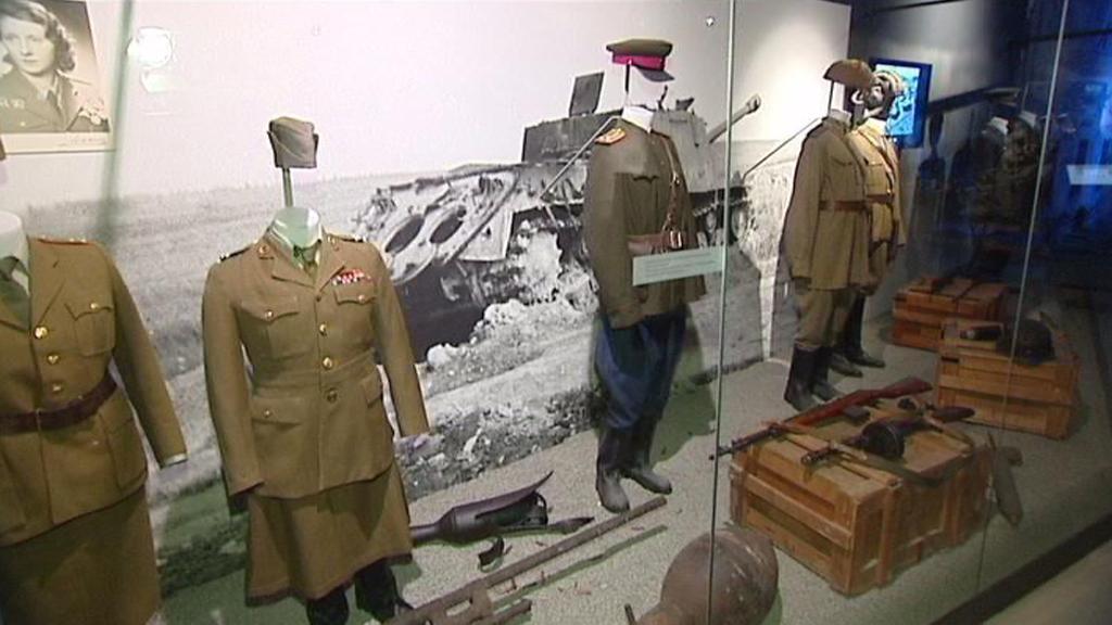 Nová celoroční expozice Ženy a válka
