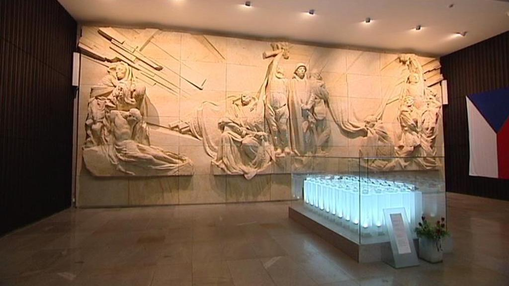 Monumentální památník v Hrabyni