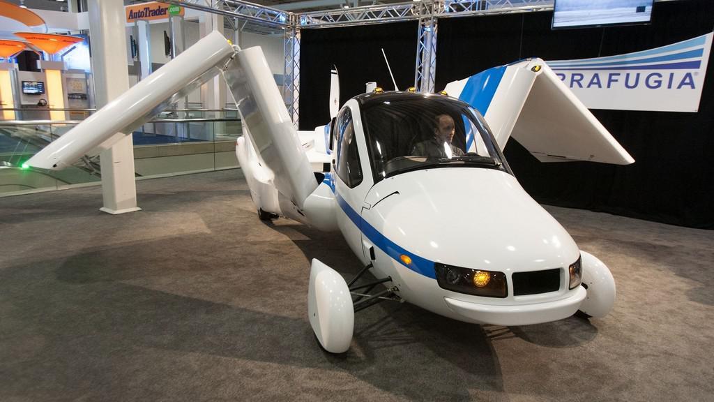 Létající automobil Transition od společnosti Terrafugia
