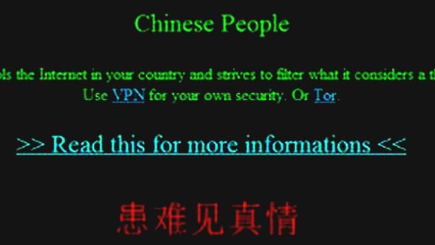 Čínské stránky napadli hackeři
