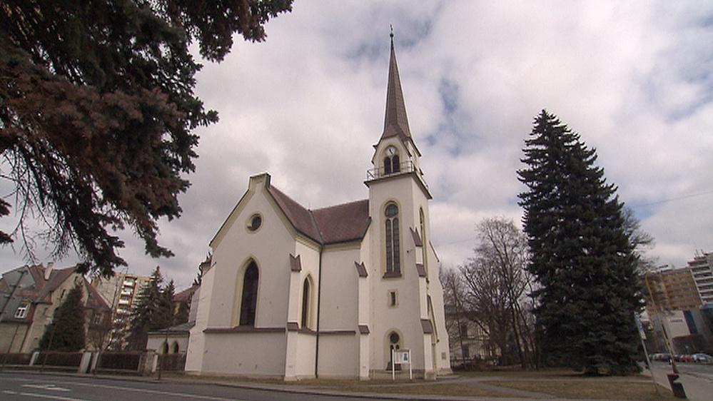 Kostel českobratrské církve evangelické v Šumperku
