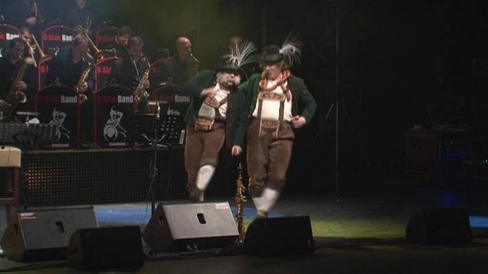 Koncert B Side Bandu v Janáčkově divadle v Brně