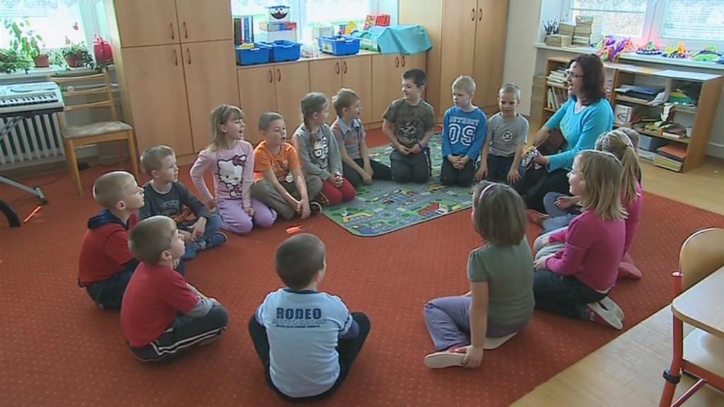 Děti v základní škole ve Zlechově