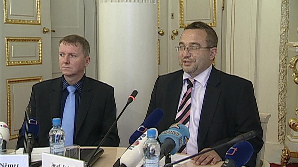 Josef Dobeš a Ladislav Němec