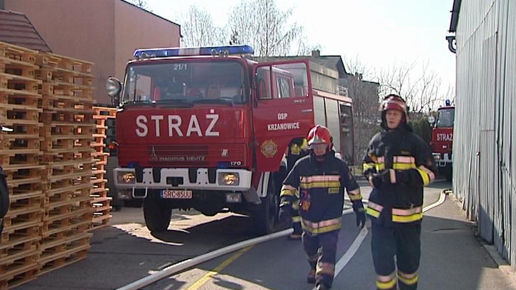 Cvičení českých a polských hasičů